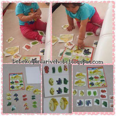Bebek oyunları ve hobi: A101 broşüründen eşleştirme kartları