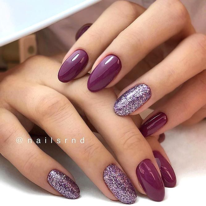 Mauve Color Nails For The Exquisite Look Naildesignsjournal Com Mauve Nails Fall Gel Nails Cute Nails For Fall