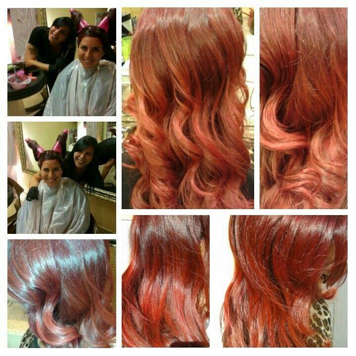 #coni #redhair #colorID #wella