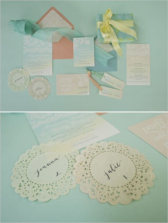 Love these soft ombre cards.  Added bonus: both my sister and my name appears in this!
