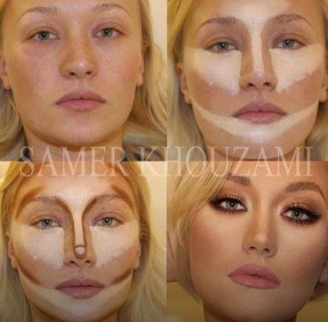 Contouring...no idea what products I'd use to achieve this though. Anyone?!