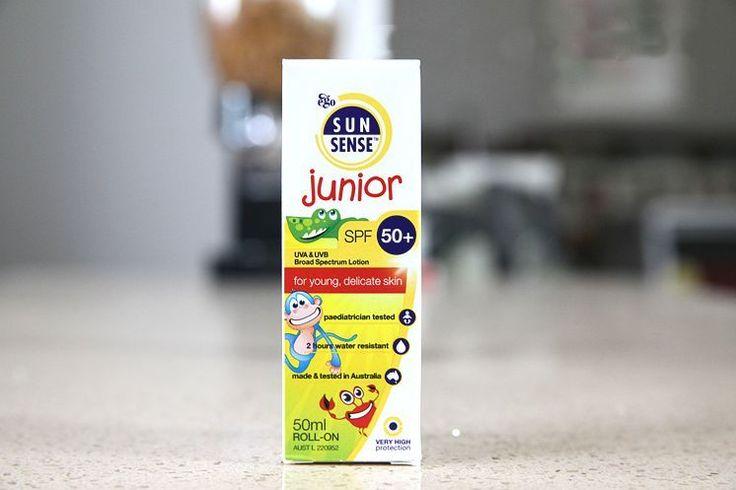 ego SUN SENSE junior SPF50+ UVA&UVB Spectrum Lotion 50ml ROLL-ON Kids Sun Screen #egoSUNSENSE