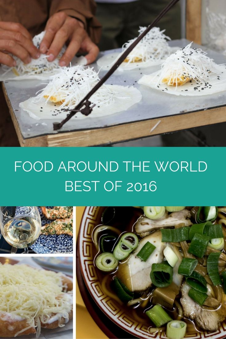 Feeling Hungry? We asked 25+ Food & Travel bloggers what their favourite food of 2016 was.....and they sent in some seriously sexy food porn! If you are looking for foodie inspiration for your travels in 2017 then look no further, as we dish up the Best Food Worth Traveling For from 2016!