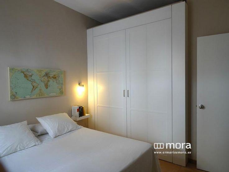 M s de 1000 ideas sobre puertas para armarios empotrados for Cama sobre armario