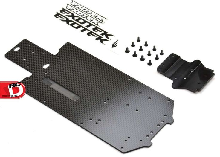 Carbon Fiber Chassis and Upper Deck for the Losi Mini Desert Truck and Mini Rally from Exotek