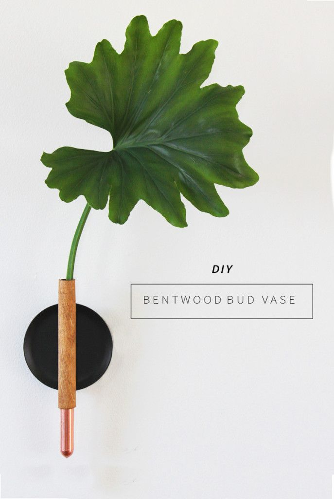 DIY Copper Bud Vase | Anna Bode