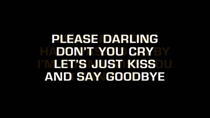 Manhattans - Kiss And Say Goodbye (Karaoke)