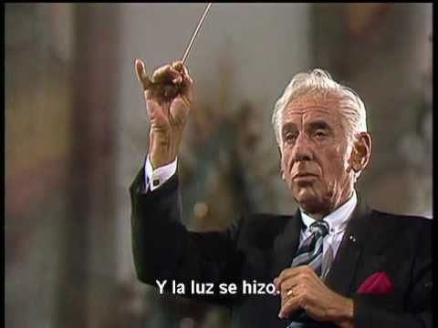 Haydn Die Schöpfung The Creation   Leonard Berstein en Español Subtitulos - YouTube