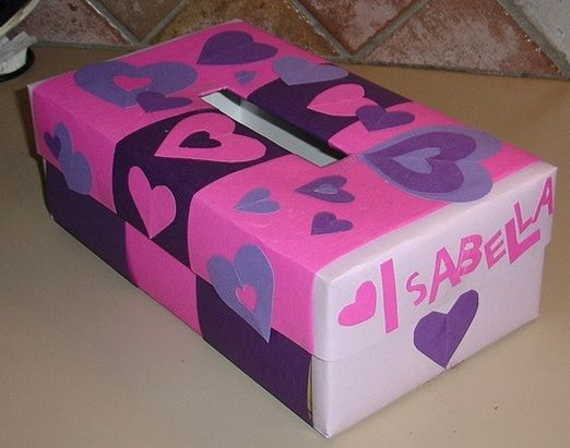 We Used To Make Valentine Boxes Out Of Empty Kleenex Boxes