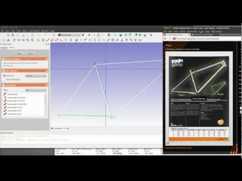 FreeCAD tutorial - introduction to sketcher workbench  - drafting software free - http://software.linke.rs/download-software/freecad-tutorial-introduction-to-sketcher-workbench-drafting-software-free/