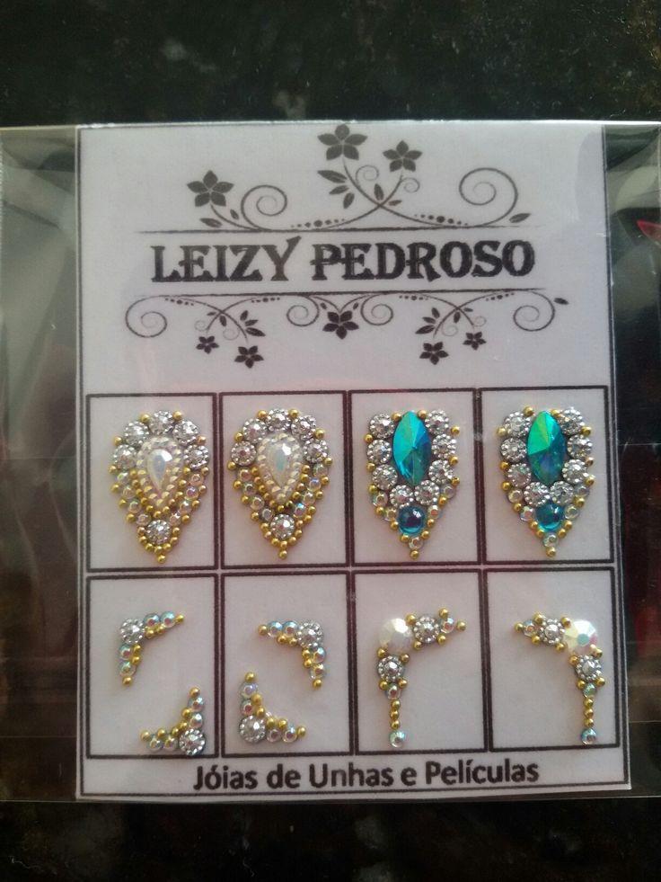 Jóias de unhas luxo Leizy Pedroso whatsapp (43) 99685 3535