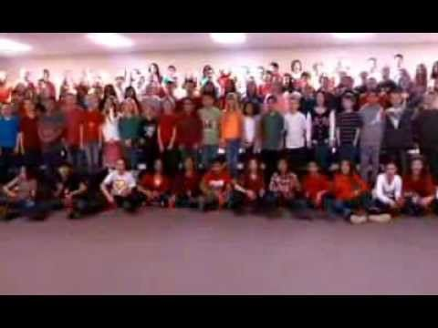 Christmas Cup Song video - YouTube christmas concert idea!!
