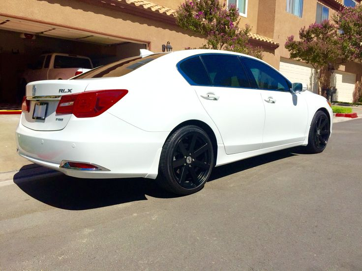 2014 Acura Rlx Advanced Package With 19 Quot X9 5 Quot Tsw Wheels