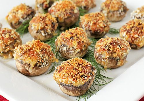 Stuffed Italian Mushrooms