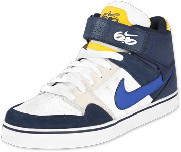 Nike Mogan (Mid Blue and Yellow).