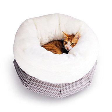 Bolso Super Macio Estilo Envolvido aconchegante e confortável Kitty Almofada de cama para animais de estimação Gatos – EUR € 42.97