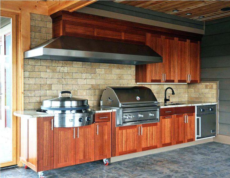 15 Redwood Kitchen Cabinets Concept | Outdoor kitchen ...