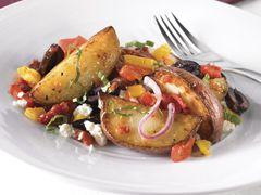 Salade de pommes de terre grillées à la méditerranéenne