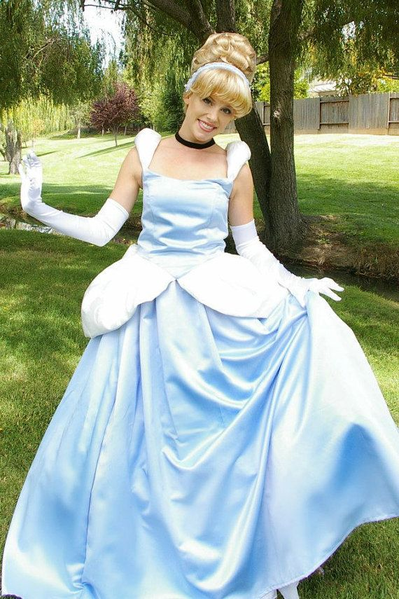 Adult cinderella ball gown pattern