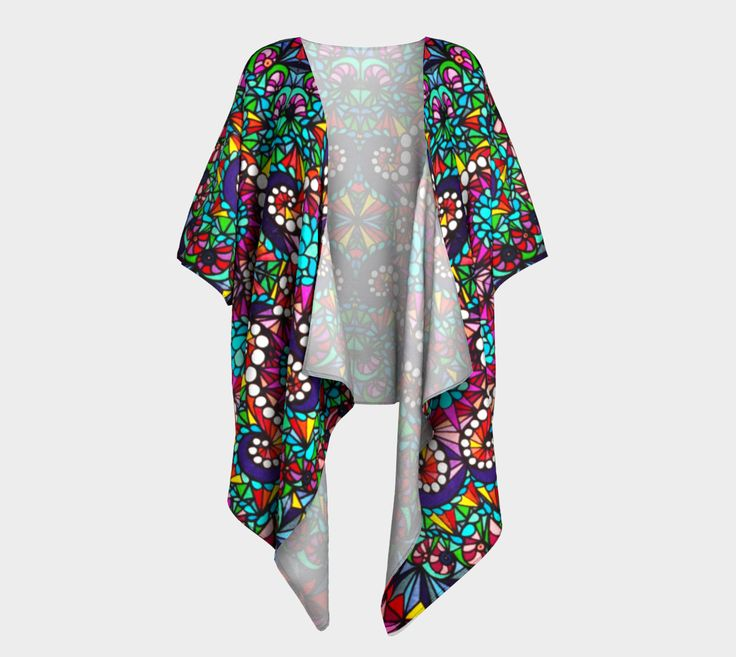 Crystal draped kimono preview #1