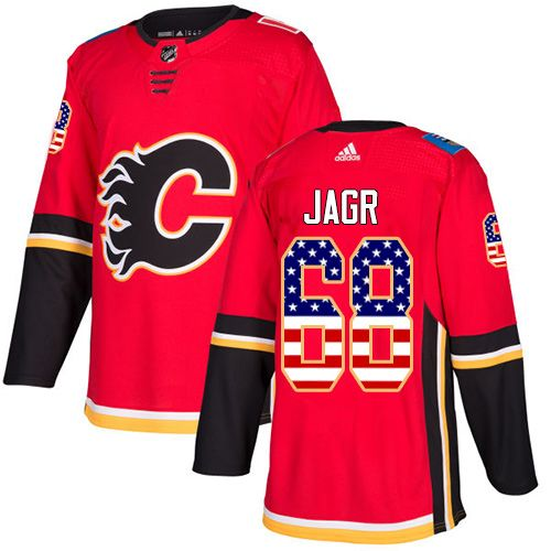 f0c37586d ... where to buy adidas flames 68 jaromir jagr red home authentic usa flag  stitched nhl jersey