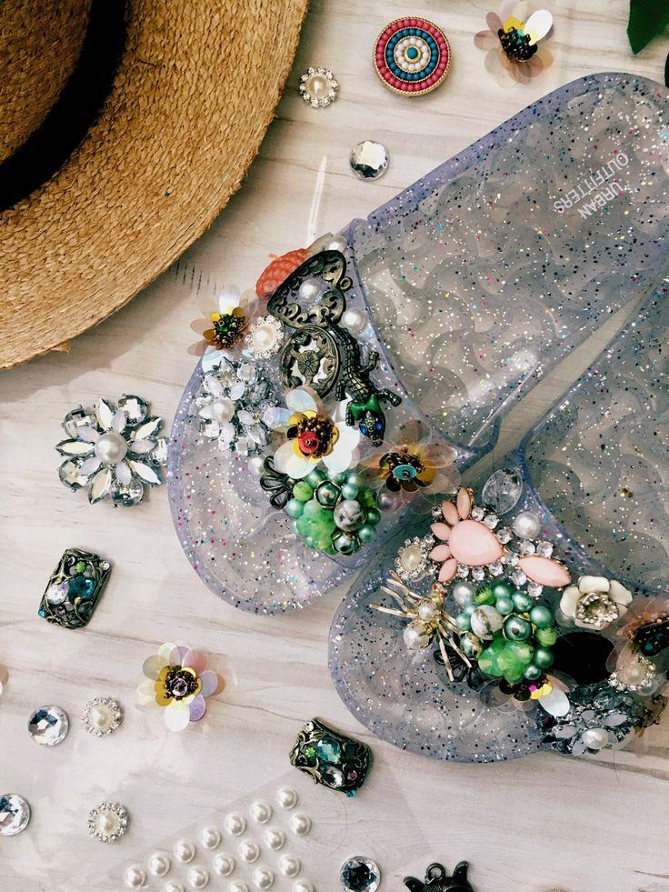 DIY Slide Sandals, A Zara Sandal Dupe