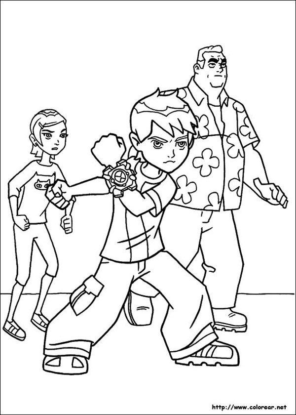 Dibujos para colorear ¡de Ben 10! Dibujos para colorear ¡de Ben 10! Descubre nuestra selección de dibujos para imprimir gratis y colorear de Ben 10. ¡A los peques les encantarán!