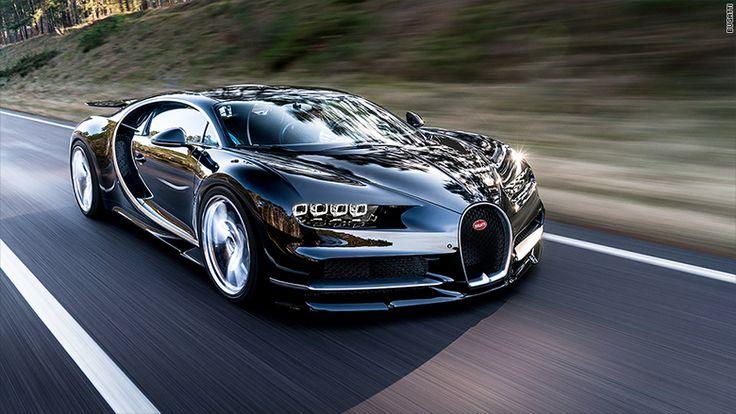 Bugatti introduces the Chiron