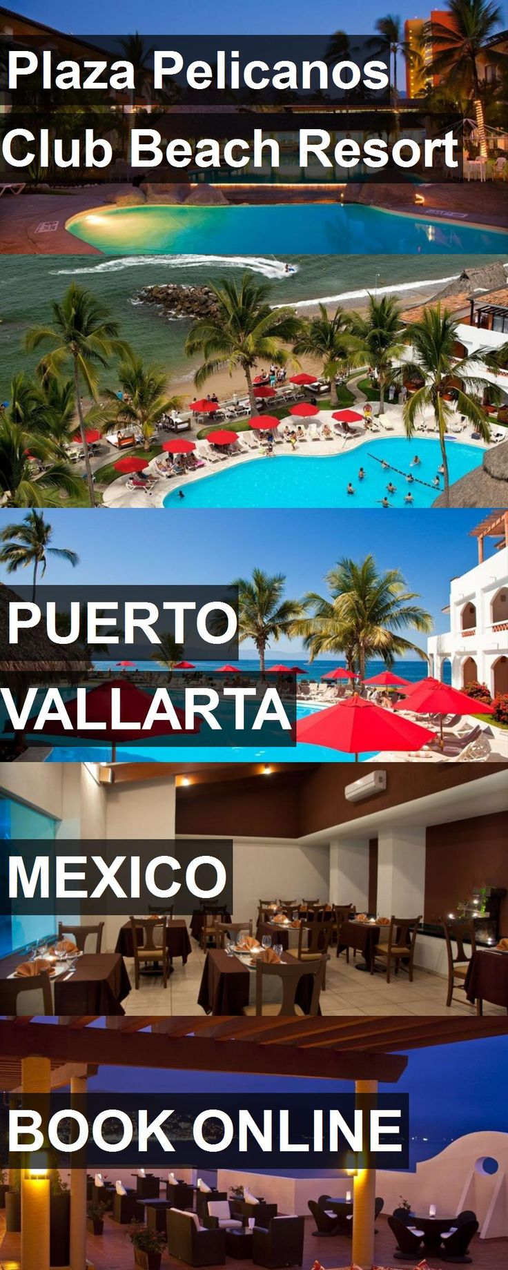 Hotel Plaza Pelicanos Club Beach Resort in Puerto Vallarta, Mexico. For more information, photos, reviews and best prices please follow the link. #Mexico #PuertoVallarta #travel #vacation #hotel