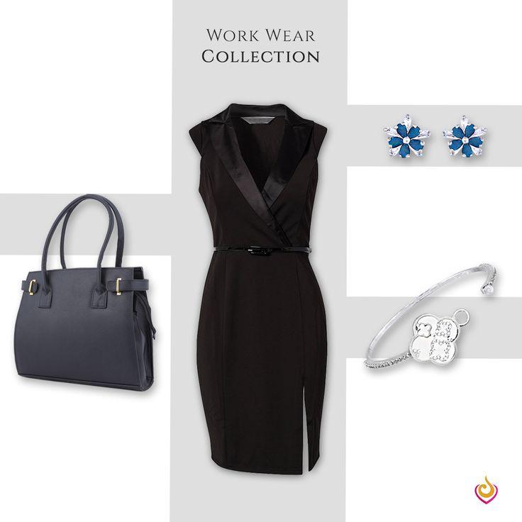 Go from boardroom meetings to offsite with minimal jewellery from Jewlot. #Jewlot #jewellery #earrings #bangles #maangtikka #nosepin #americandiamond #kundan #ethnic #necklace #pendant #bridalwear #indianwear #workwear #minimal #fashion #bling #India