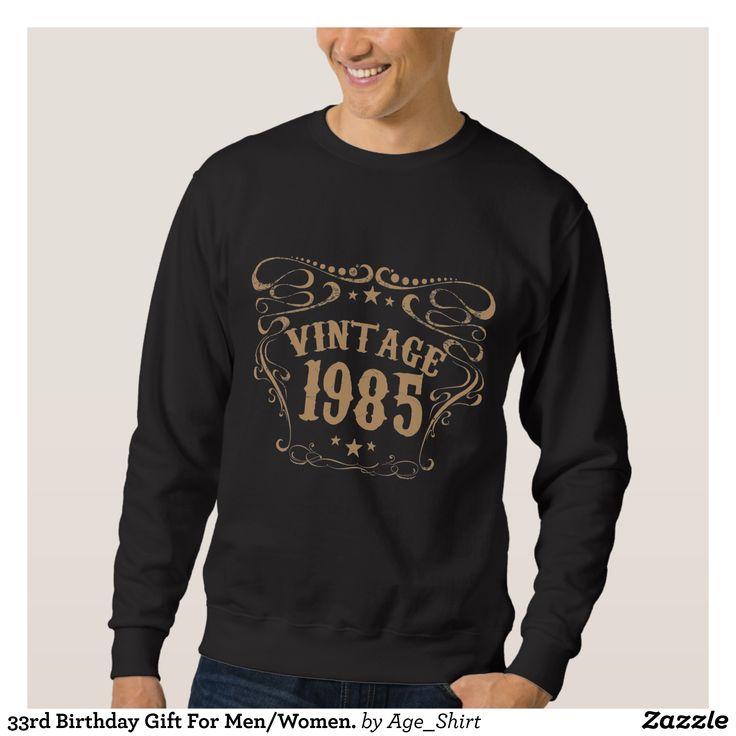 33rd Birthday Gift For Men/Women. Sweatshirt - Outdoor Activity Long-Sleeve Sweatshirts By Talented Fashion & Graphic Designers - #sweatshirts #hoodies #mensfashion #apparel #shopping #bargain #sale #outfit #stylish #cool #graphicdesign #trendy #fashion #design #fashiondesign #designer #fashiondesigner #style