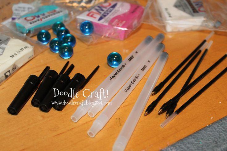 DIY Crafts Home Decor | Doodle Craft...: Doctor Who Week #5: Sonic Screwdriver DIY!
