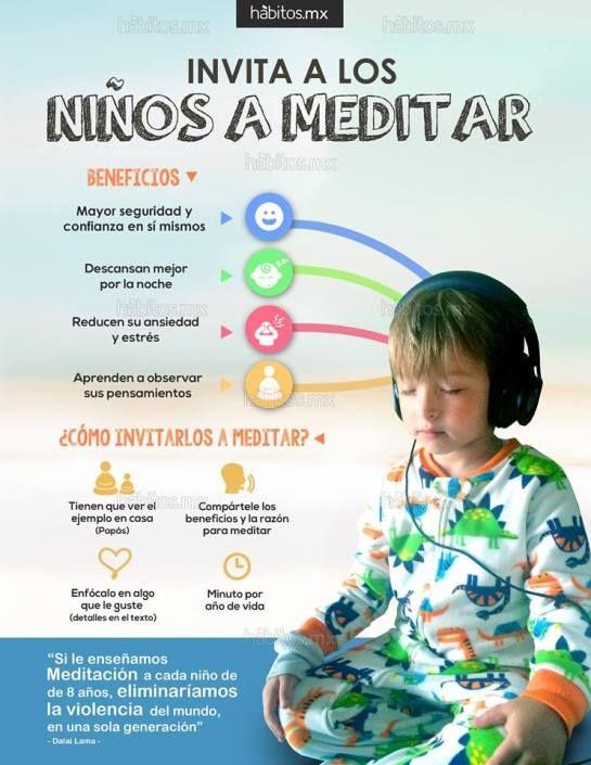 INVITA A LOS NIÑOS A MEDITAR