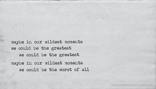 Jessie ware Wildest moments lyrics