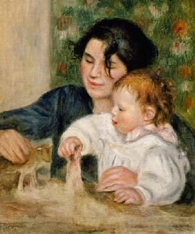Pierre-Auguste Renoir - Gabrielle y Jean