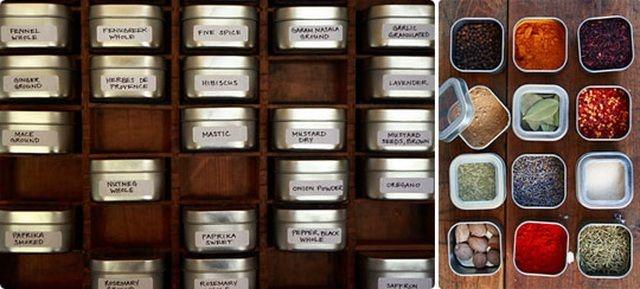 Ideea  nr. 3 pt. depozitarea condimentelor si cea mai interesanta din punctul meu de vedere-  de pe Food Story