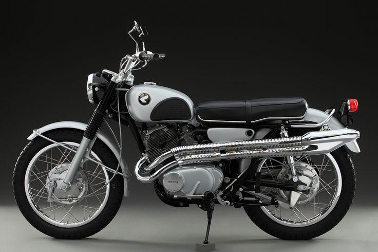 My 1966 Honda 305 Scrambler