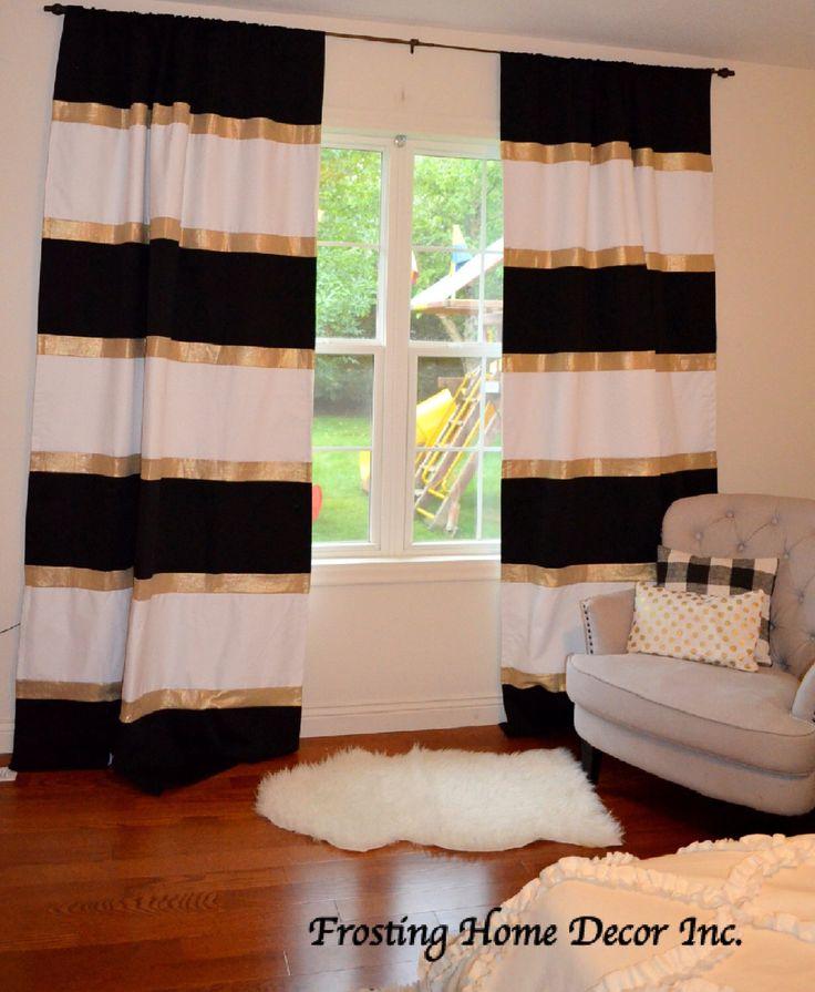 Best 25+ Black white curtains ideas on Pinterest | White ...