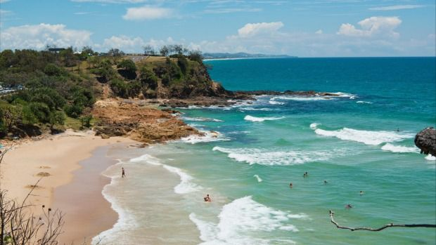 The best time to book a trip in Australia: Coolum Beach on Queensland's Sunshine Coast - best between May and December.