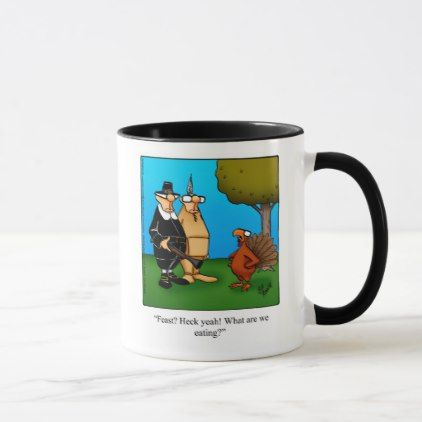 Funny Thanksgiving Humor Mug Gift - thanksgiving day family holiday decor design idea