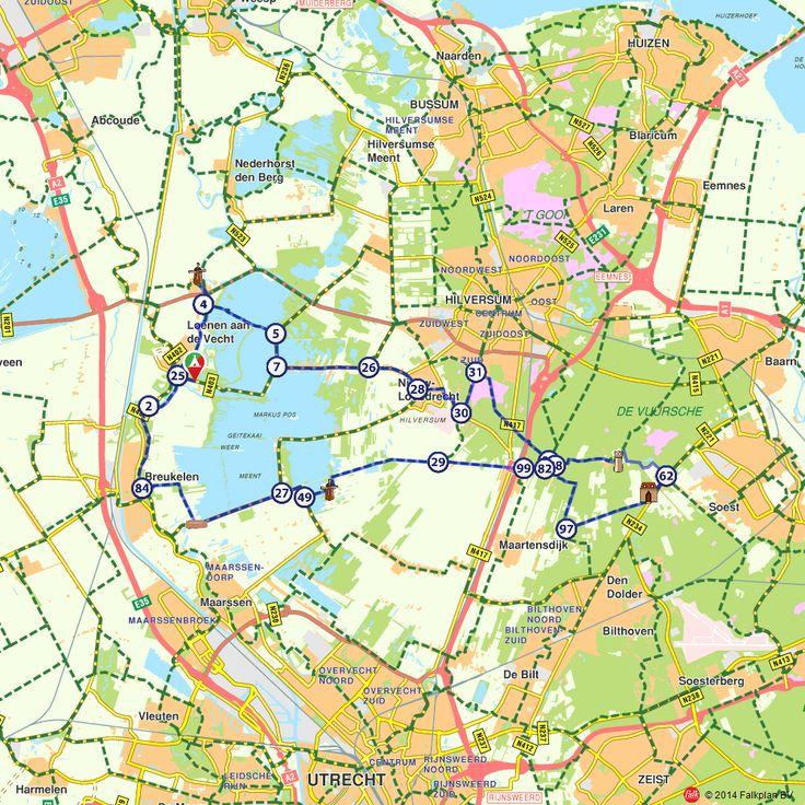 Fietsroute: Rondje Loosdrechtseplassen  (http://www.route.nl/fietsroutes/138250/Rondje-Loosdrechtseplassen/)