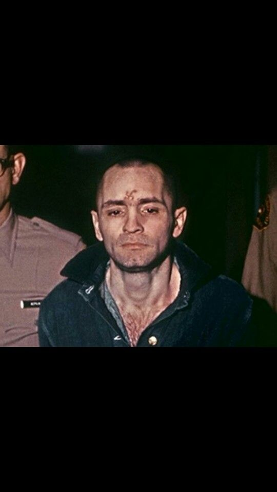 Manson carved an x on his head during the trial, the very next morning the girls had too, both the ones in courtroom and the ones on the corner outside.Even incarcerated his power over them didn't wane