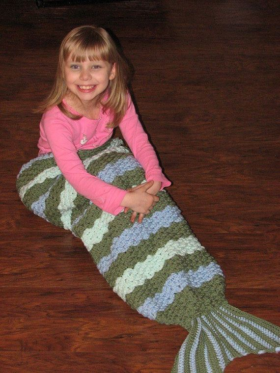 Crochet Patterns Mermaid Tail Blanket : Mermaids, Crochet mermaid and Etsy store on Pinterest