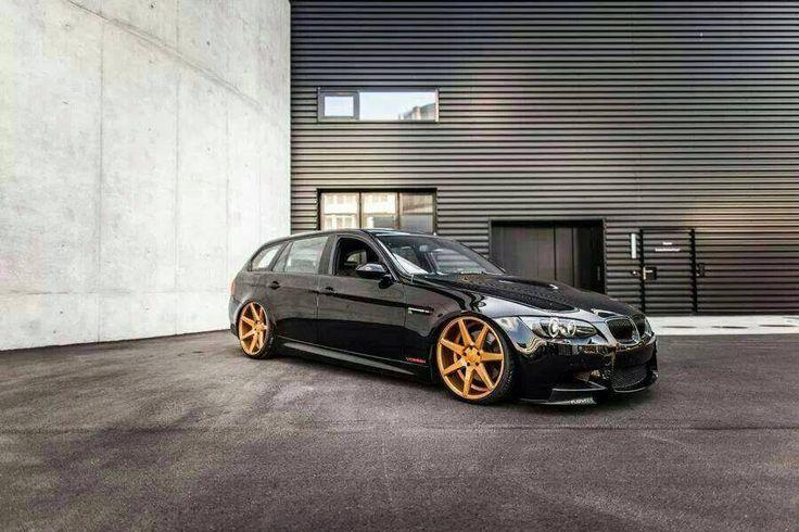 BMW Wagon Custom finish CV7's BMW Tuning Mag