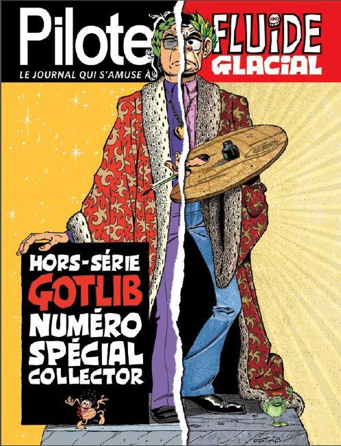 """Spécial Gotlib, un numéro qui dit tout sur le """"Maître"""" - http://www.ligneclaire.info/pilote-fluide-glacial-12769.html"""