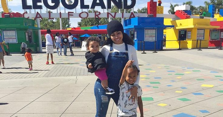 Blac Chyna had a fun day with her kids, King and Dream, on a trip to Legoland — see the cute photos
