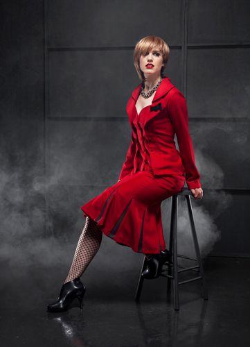 Bastille Blazer and Governess Panel Skirt