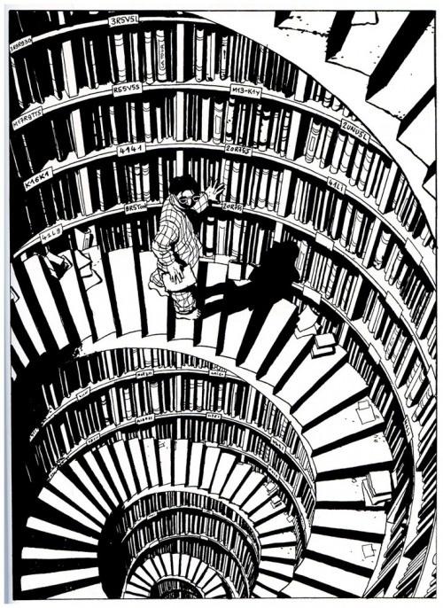 Graphic novels of Marc-Antoine Mathieu via @anabjain