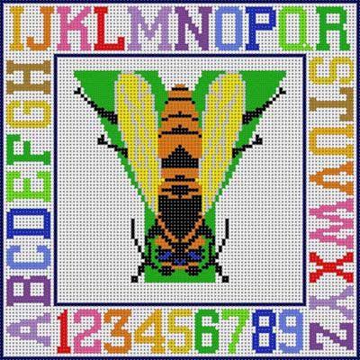 Animal ABC  Y ( Yellow-jacket )