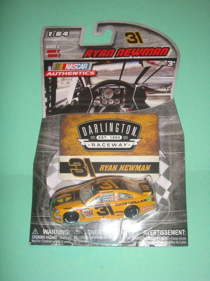2015 NASCAR AUTHENTICS 1:64 RYAN NEWMAN DARLINGTON #31 CATERPILLAR